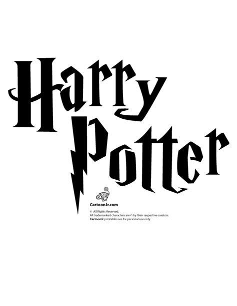 harry potter pumpkin stencil woo jr kids activities