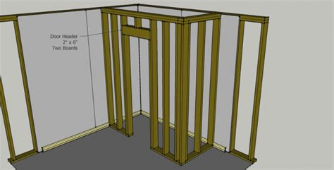how to frame a closet door how to add a closet to your house or garage for additional