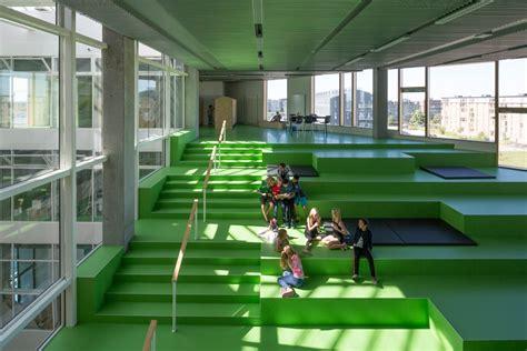copenhagen school of interior design south harbour school connects classrooms with copenhagen s