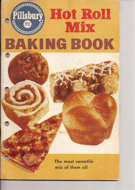 bread cookbook 25 recipes for baking bread at home with ease books pillsburys roll mix baking book vintage 1950 s