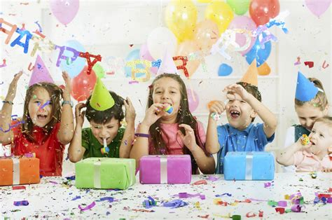 kids birthday party themes for children ages 3 through 13