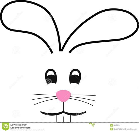 Stock Image: BUNNY FACE. Image: 58906201