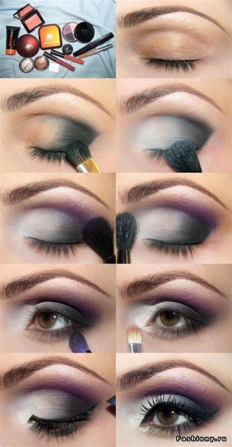 makeup tutorial facebook grey and purple eye makeup tutorial pictures photos and