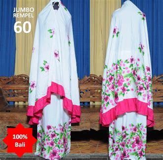 Mukena Jumbo Rempel 29 fatimah store abaya arab mukena kosmetik barang habis mukena bali jumbo rempel