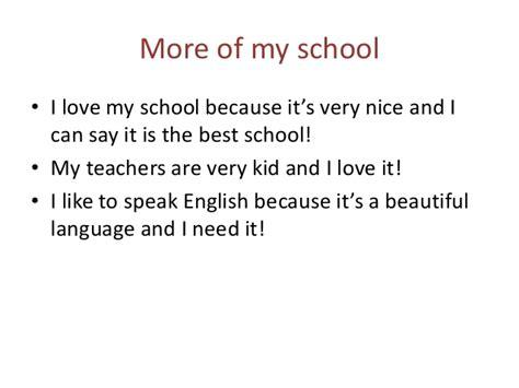 My School Essay In by I My School Writing Essay Writing On I My School Wunderlist