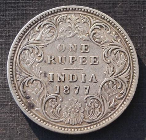 1 gram silver coin price 1877 one 1 rupee silver coin 10gram at rs