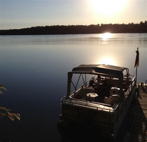 pontoon trailer rental tomahawk wi thompson s lakeside cabins cabin 2 on horsehead lake lake