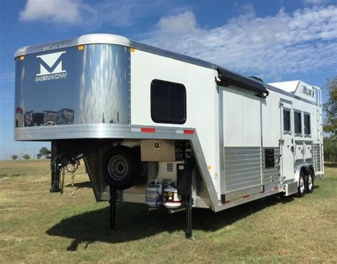 living quarter horse trailer 12 short wall floor plan home horse trailers for sale find new and used