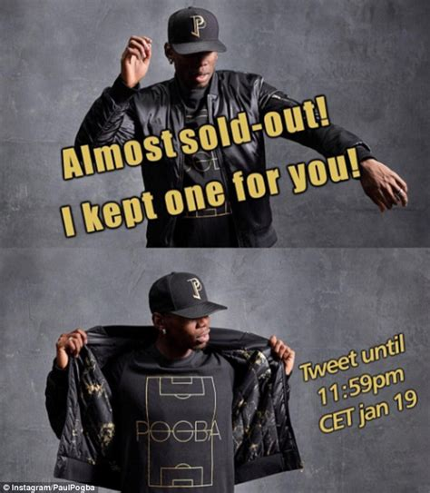 Jaket Playmaker United paul pogba s adidas fashion range almost sells out in day