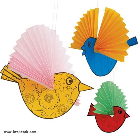 Bird Paper Craft - 17 best images about bird theme on parrots