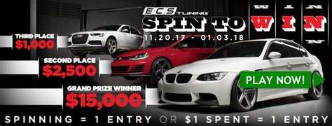 Ecs Tuning Gift Cards - ecs tuning customer appreciation sweepstakes win gift card