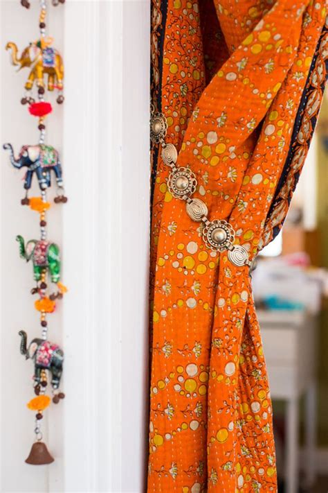 ways to tie curtains nicole s boho entryway four ways entryway belts and boho