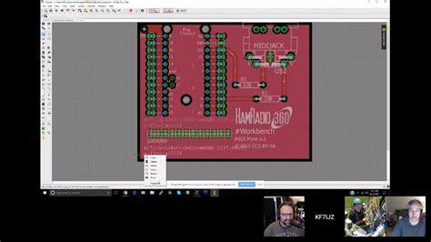 eagle layout youtube hamradio360 workbench podcast tutorial on autodesk eagle