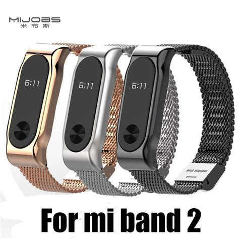 New Xiaomi Mi Band 2 Stainless Steel Protective Metal For Xiaomi Mi Band 2 Screwless Stainless Steel