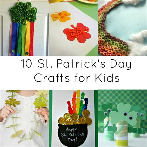 st patricks day crafts for activities for 10 st day crafts