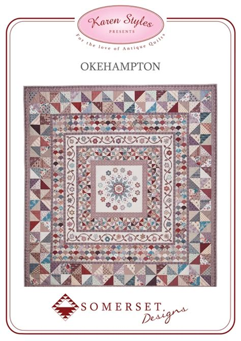Somerset Patchwork And Quilting - okehton quilt pattern from somerset patchwork australia