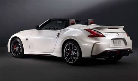 2017 nissan 370z convertible 2017 nissan 370z nismo roadster auto prices and reviews