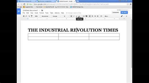 Newspaper Docs googledocs newspaper formatting