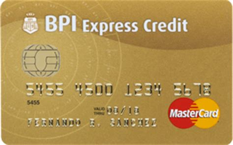 how to make advance in bpi credit card bpi gold mastercard the premium card bpi cards