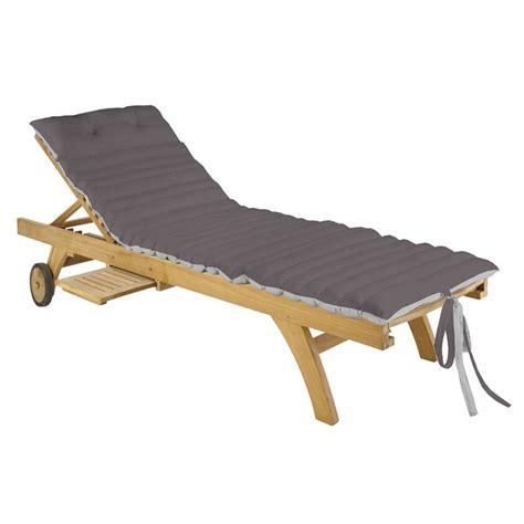 cuscini per lettini da giardino cuscino per lettino da spiaggia duo gris perla cuscini