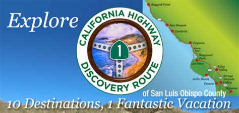 Sweepstakes Route - california highway 1 discovery route travel sweepstakes