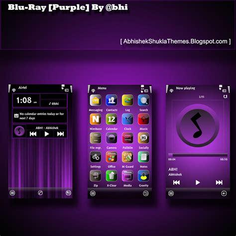 theme maker for e66 blu ray purple by bhi bhi abhishek shukla