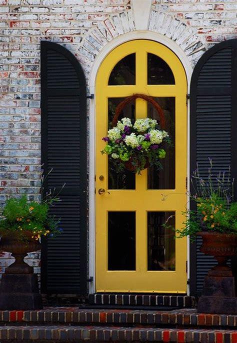 impressive front door plant decor ideas outdoorthemecom