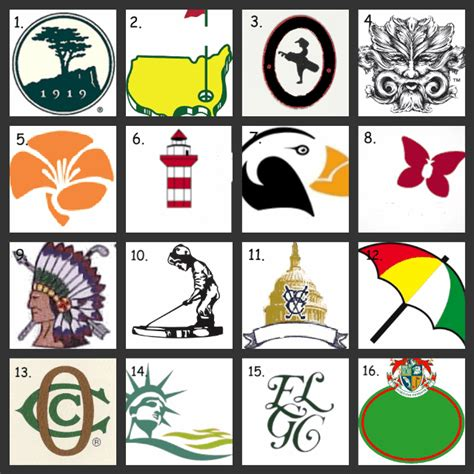 Golf Course Logos Quiz   By jeffstet25