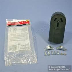 ace electric black range outlet receptacle stove oven 10 50 50a 125 250v 36014 ebay