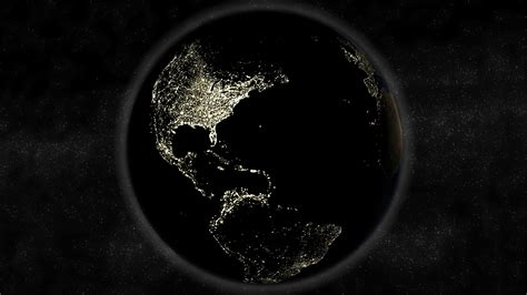 black earth hd wallpaper earth at night wallpaper hd wallpapersafari
