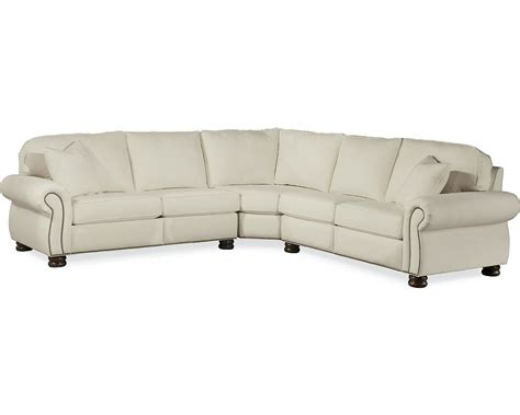 thomasville benjamin leather sectional benjamin motion sectional leather thomasville furniture