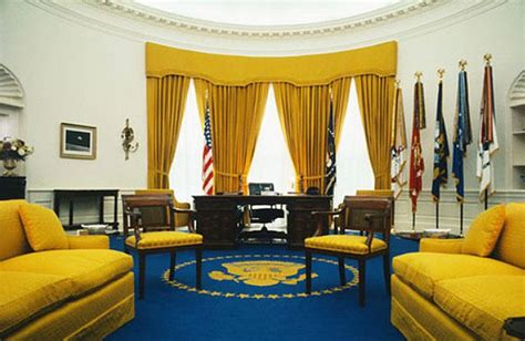 oval office decor by president from taft to obama the oval office in its many forms