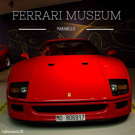 Ferrari Italy Museum by The Ferrari Museum Maranello Italy Where Horses Roar