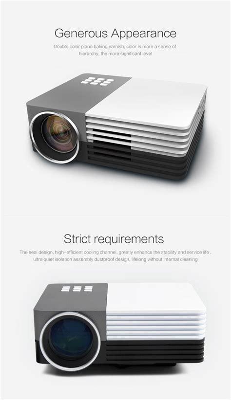 Gm50 Projector gm50 port 225 til led projector suporte 1080p sd hdmi vga av
