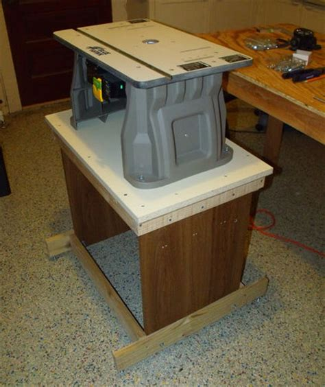 Blue Hawk Router Table by Woodworking On A Half Shoestring 15 N Router