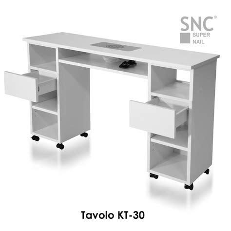 tavolo unghie usato tavolo dritto con aspiratore integrato ricostruzione