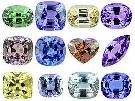 what color is tanzanite tanzanite