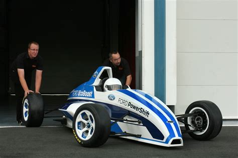 Car Types That Start With S by 2012 Formula Ford Race Car Starts Its Engine In Frankfurt