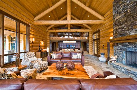 luxury home designs luxury log home plans natural stone luxury log home plans with bold natural accents ideas 4