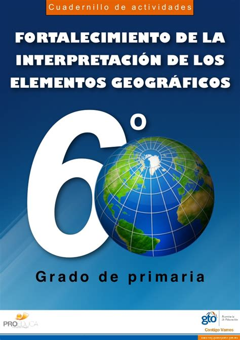 geografia 6 grado slideshare geograf 237 a 6 grado primaria