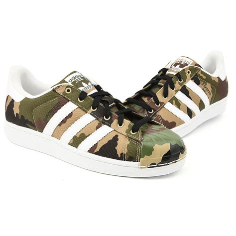 shell toe sneakers adidas superstar camouflage quot shell toe pack quot trainers