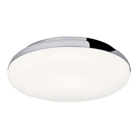 led flush fitting bathroom ceiling light opal glass with chrome ring circular ip44 bathroom ceiling light fits flush with chrome surround