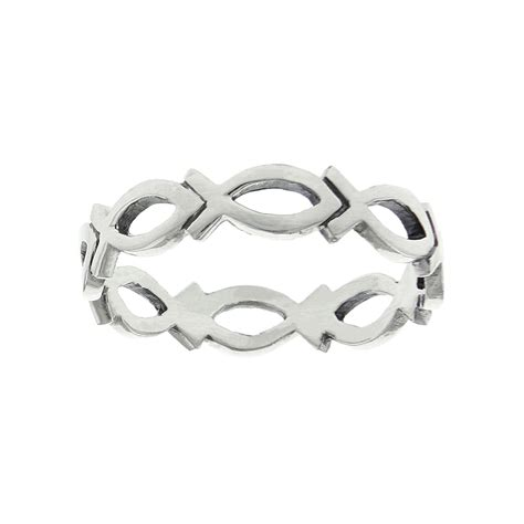 Cutout Ring cutout ichthus ring s rings on purityringsonline