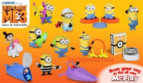 Harga Vans X Spongebob despicable me 3 happy meal toys