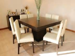 Dining Room Tables For 8 Square Dining Room Table For 8 Marceladick