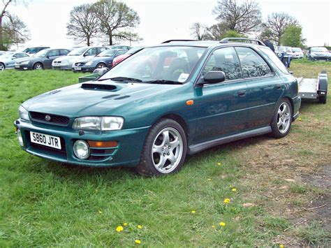 subaru station wagon green 1993 subaru impreza station wagon pictures information