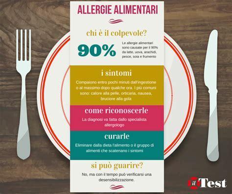 test allergologici alimentari come capire se si 232 allergici a un cibo il test