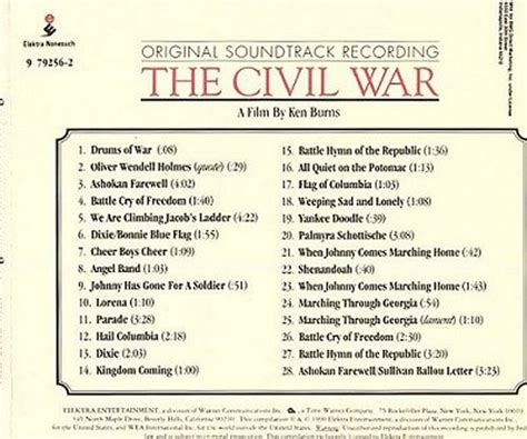 theme music ken burns civil war ken burn s civil soundtrack music