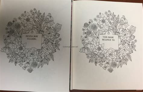 twilight garden coloring book twilight garden coloring book aka blomster mandala coloring queen