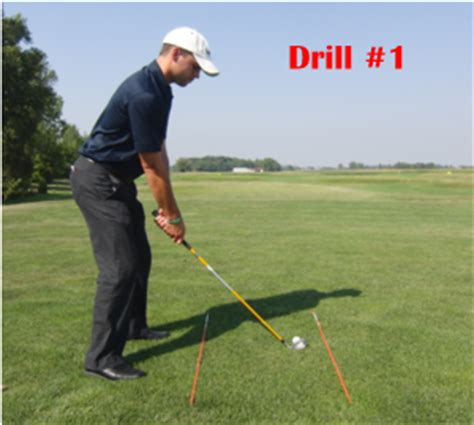 backyard golf drills how to use alignment sticks for more accuracy in golf
